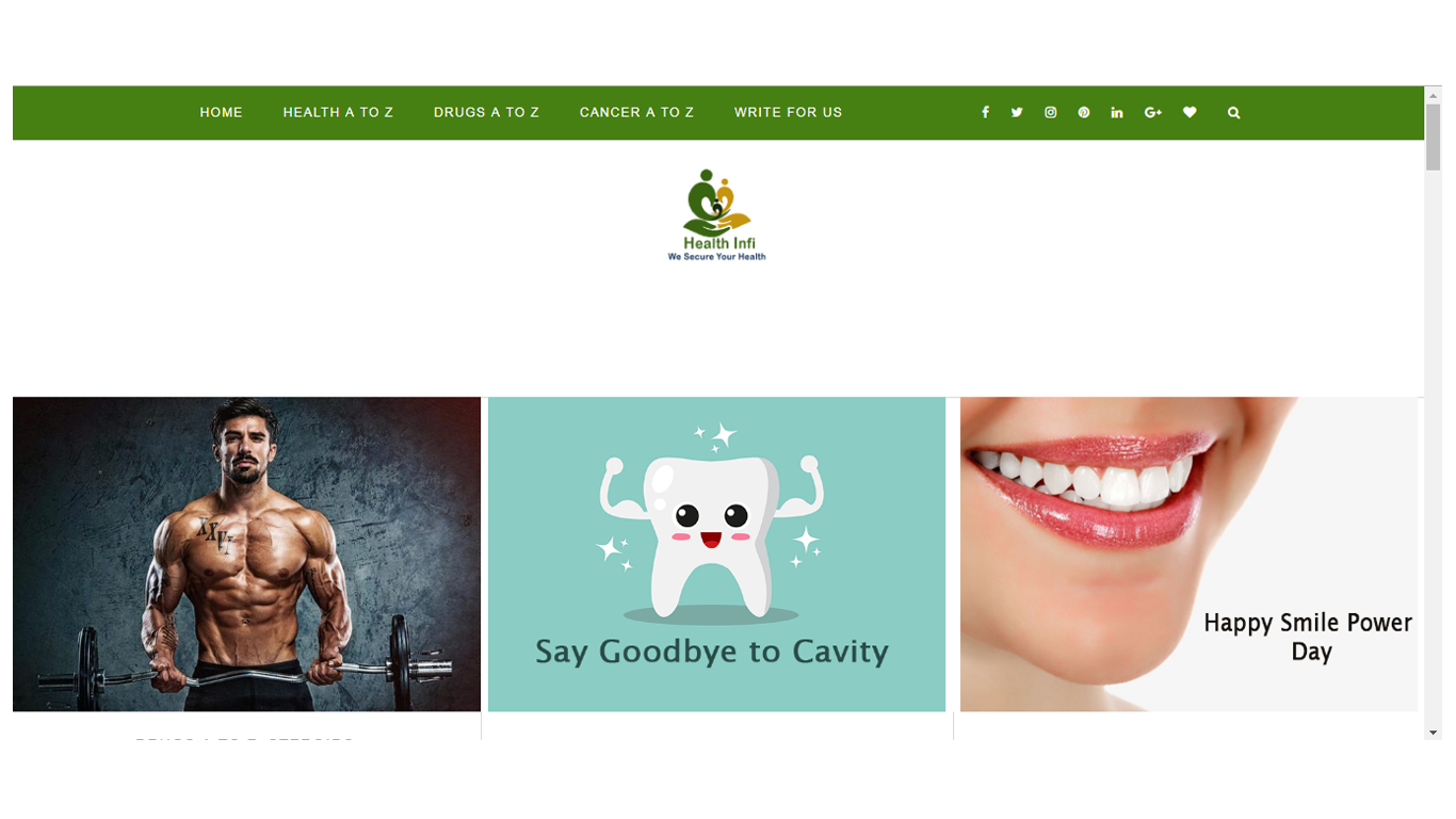 Health Blog Website Development